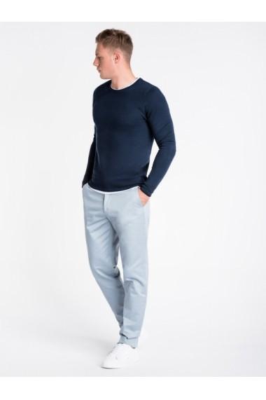 Bluza premium barbati E121  bleumarin