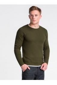 Bluza premium barbati E121  verde
