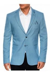 Sacou elegant barbati  M102  albastru deschis