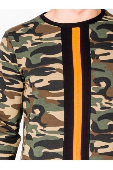 Bluza barbati B808  verde camuflaj