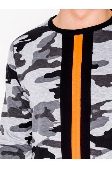Bluza barbati B808  gri camuflaj