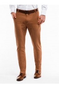 Pantaloni casual barbati P853 camel