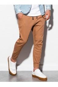 Pantaloni joggers barbati P885  camel