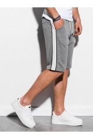Pantaloni scurti barbati W241  gri inchis