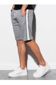 Pantaloni scurti barbati W241  gri deschis