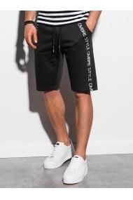 Pantaloni scurti barbati W242  negru