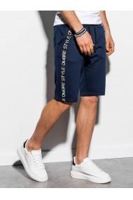 Pantaloni scurti barbati W242  bleumarin