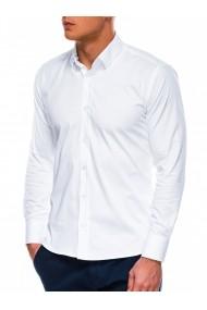 Camasa slim fit barbati K504 - alb