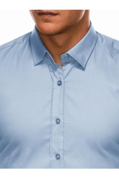 Camasa regular fit barbati K505 - albastru-deschis