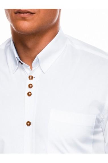 Camasa eleganta barbati K302 - alb