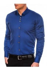 Camasa eleganta barbati K302 - bleumarin