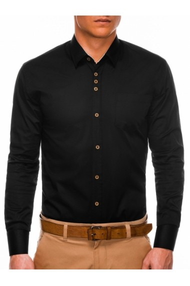 Camasa eleganta barbati K302 - negru