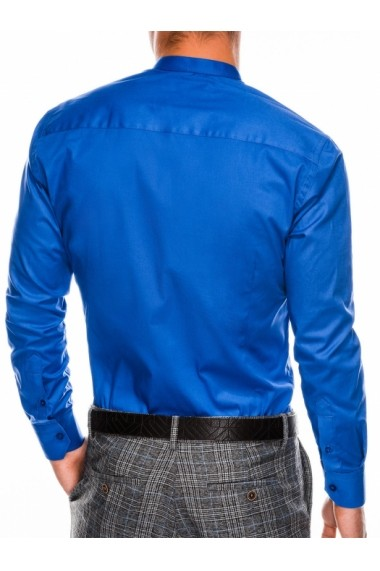 Camasa eleganta barbati K307 - albastru