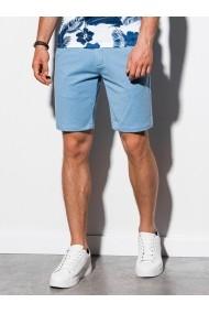 Pantaloni scurti premium barbati W224 - albastru-deschis