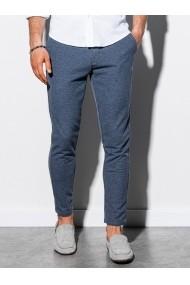 Pantaloni premium  casual  barbati - P891-bleumarin