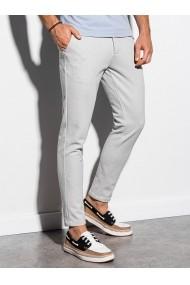 Pantaloni premium  casual  barbati - P891-gri-deschis