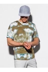 Tricou slim fit barbati S1219 - verde