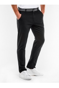 Pantaloni barbati  casual  slim fit P156-negru
