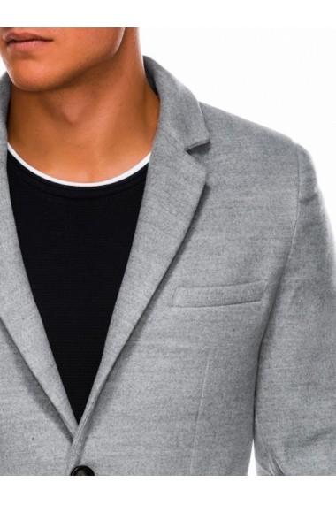 Palton barbati  premium - C432-gri-deschis