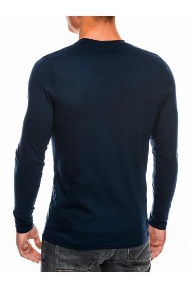 Bluza barbati simpla bumbac L118-bleumarin