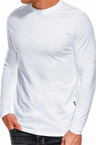 Bluza barbati simpla bumbac L118-alb