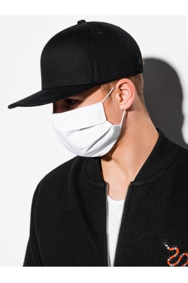 Masca protectie din bumbac de inalta calitate unisex A260 - alb