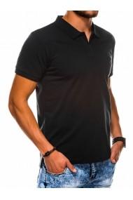 Tricou polo barbati S1048 - negru