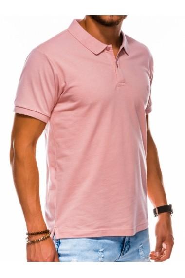 Tricou polo barbati S1048 - roz