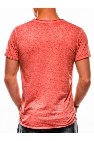 Tricou barbati S1051 - corai