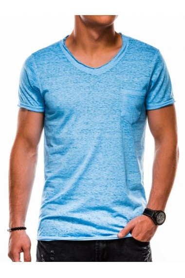 Tricou barbati S1051 - albastru