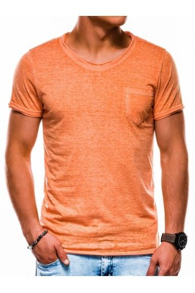 Tricou barbati S1051 - portocaliu