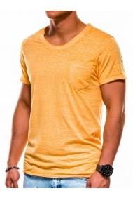 Tricou barbati S1051 - galben