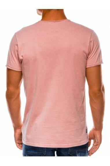 Tricou barbati S1037 - roz