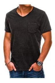 Tricou barbati S1037 - negru