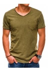 Tricou barbati S1037 - olive
