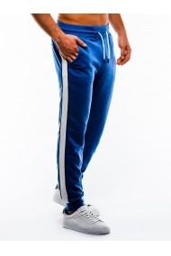 Pantaloni de trening barbati - P865-albastru