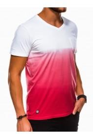 Tricou barbati S1036 - rosu