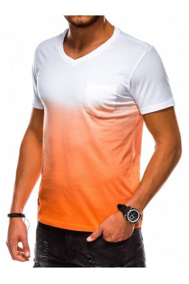 Tricou barbati S1036 - portocaliu