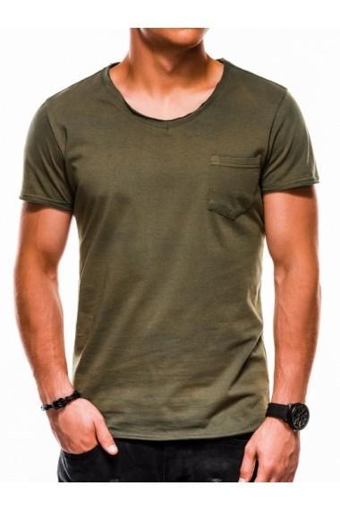 Tricou barbati S1049 - verde