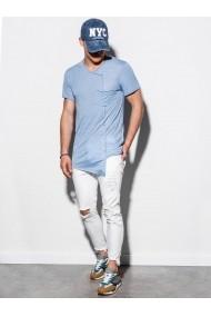 Tricou barbati S1215 - albastru-deschis