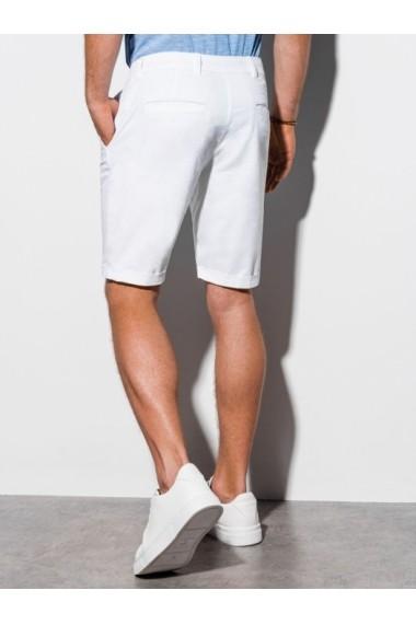 Pantaloni scurti premium barbati W243 - alb