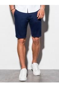Pantaloni scurti premium barbati W243 - bleumarin