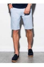Pantaloni scurti premium barbati W243 - albastru-deschis