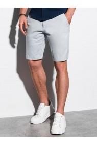 Pantaloni scurti premium barbati W243 - gri-deschis