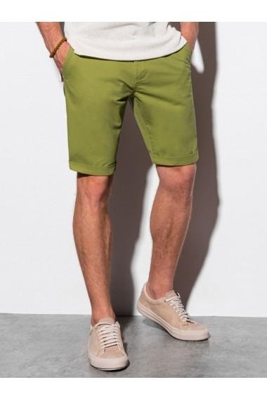 Pantaloni scurti premium barbati W243 - verde