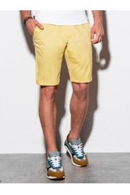 Pantaloni scurti premium barbati W243 - galben