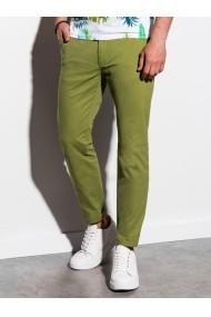 Pantaloni premium casual barbati - P894-verde