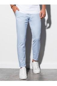 Pantaloni premium casual barbati - P894-albastru-deschis