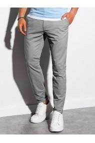 Pantaloni premium casual barbati - P894-gri