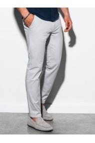 Pantaloni premium casual barbati - P894-gri-deschis